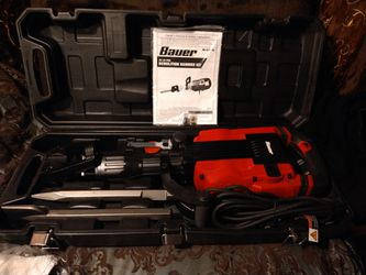 Bauer 35LB Demolition Hammer Kit (1632E-B) for Sale in St. Louis,  MO