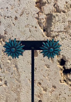 Vintage Southwest Clip Earrings-Top Quality Designer Piece-Good Condition-#ArtsSoFlo for Sale in Miami, FL