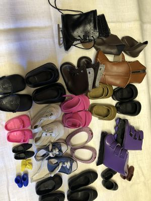 Shoes for dolls and Barbie for Sale in Sacramento, CA
