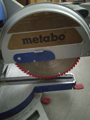 Metabo 12 inch miter saw for Sale in Woodlake, CA