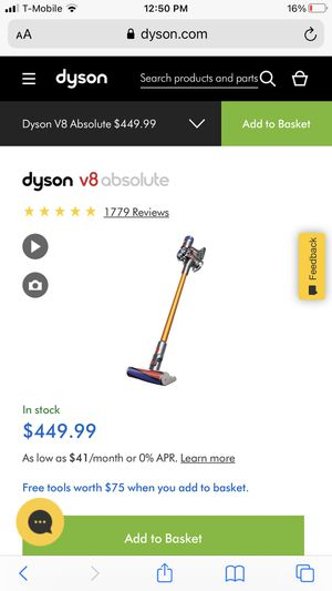 New Dyson V8 Absolute for Sale in Orland Park, IL