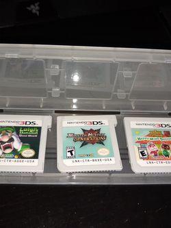 3Ds Games - Luigi's Mansion, Monster Hunter, Animal Crossing for Sale in Panama City,  FL