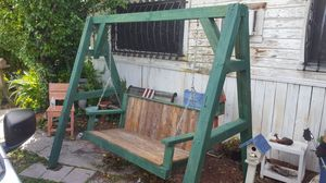 Porch swing w/ stand for Sale in San Antonio, TX