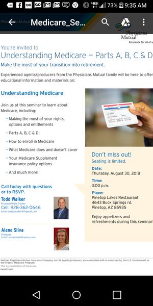 Medicare 101 for Sale in Pinetop, AZ