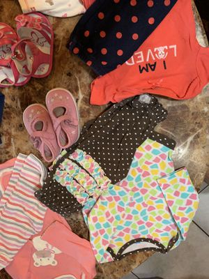 Baby Girls 0-6 months Clothing & Shoe Lot for Sale in Port St. Lucie, FL