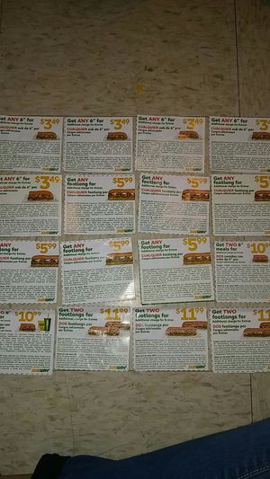 Coupons for Sale in Austin, TX