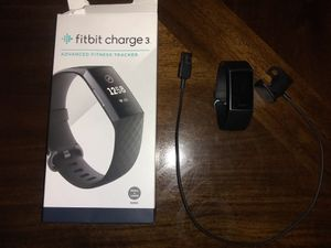 Fitbit Charge 3 Advanced Fitness Tracker for Sale in Highland, CA