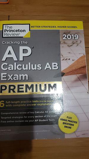 Cracking the AP Calculus AB Exam Premium for Sale in Ontario, CA
