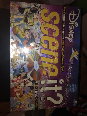 Disney's Scene It DVD board game for Sale in Toms River, NJ