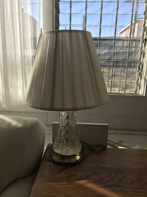 Princess House Crystal Lamp for Sale in Los Angeles, CA