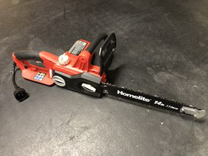 """Homelite Electric Chainsaw with 14"""" Bar for Sale in Marysville, WA"""