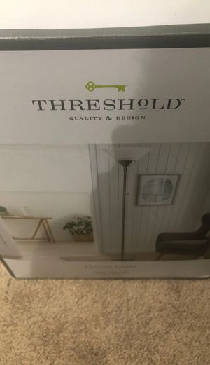 Threshold floor lamp for Sale in Wheaton-Glenmont, MD