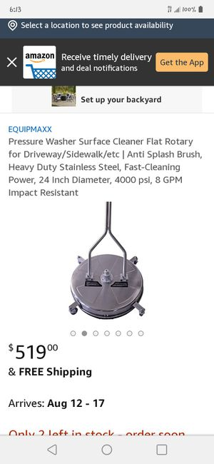 Surface Cleaner for Sale in Holiday, FL