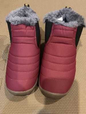 Toddler girl snow boots size 12 for Sale in Brooklyn, NY