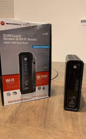 Motorola Modem and Wi-Fi router for Sale in Apex, NC