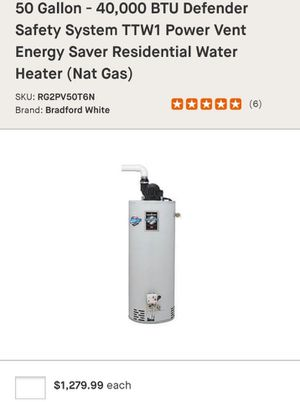Water heaters for Sale in Cleveland, OH