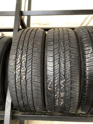 215-60-17 used tires 215/60/17 llantas usadas for Sale in Fontana, CA