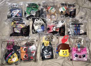 McDonalds Toy Lot Pokemon LEGO Transformers Yo-Kai BRAND NEW! for Sale in Suisun City, CA