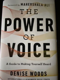 The Power Of Voice Book for Sale in Spring,  TX