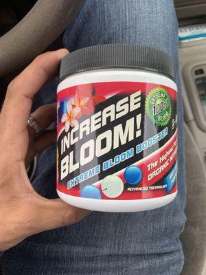 Organic Flower booster for Sale in Cerritos, CA