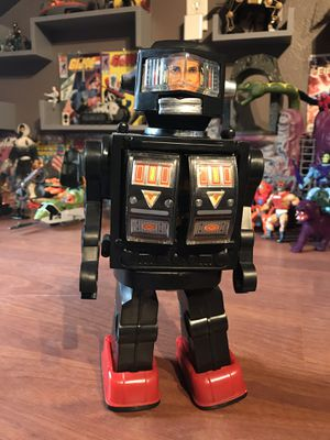 Vintage 80's Robot Toy battery operated rare for Sale in Houston, TX