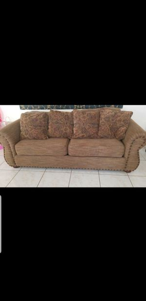 Couch with pullout bed for Sale in Phoenix, AZ
