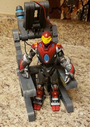 Marvel Select Ultimate Iron Man Action Figure Complete w/Rack Diamond Loose for Sale in Aurora, CO