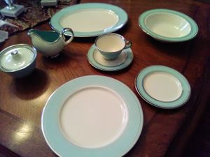 Antique china Castleton turquoise for Sale in McKinney, TX