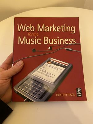 Book, Web Marketing for the music business for Sale in Los Angeles, CA