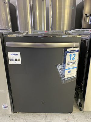 NEW GE BLACK STAINLESS DISHWASHER $450 for Sale in Ontario, CA