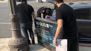 Lg oled 65 inch Cx 2020 model 4K tv smart oled65Cx for Sale in Los Angeles, CA