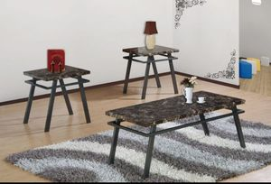 COFFEE TABLE AND TWO END TABLES for Sale in Tempe, AZ