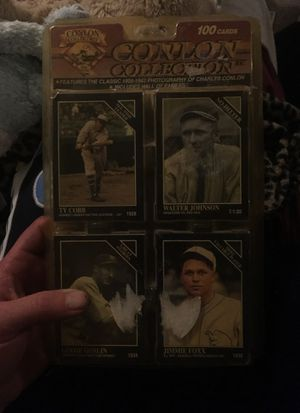 Unopened 1994 conlon collection 100 baseball cards 1905-1942 for Sale in Oran, MO