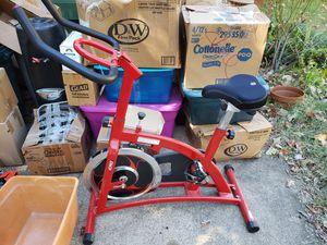 ERG Stationary Bike with LARGE Schwinn Seat for Sale in Fort Worth, TX
