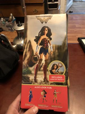 2 Boxes for Wonder Woman collectible from Dolls to action figures for Sale in Denver, CO