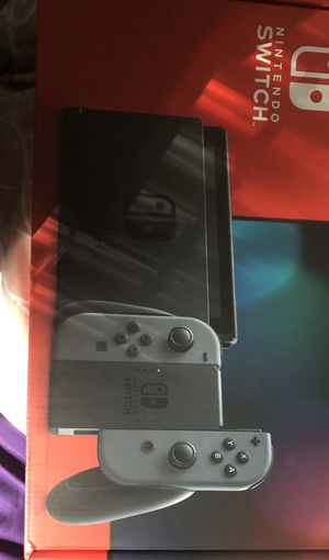 Nintendo Switch Grey Joy-Con IN HAND FREE SAME DAY SHIP PRIORITY 1-3 DAY for Sale in McDonough, GA
