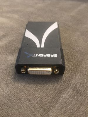 USB to DVI Extra Monitor Adapter for Sale in Plymouth, CT