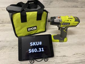 Ryobi 18 Volt Cordless 3 Speed 1/2 in. Impact Wrench Tool Only for Sale in Mesa, AZ