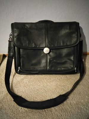 Very nice all leather laptop case in good condition for Sale in Fresno, CA