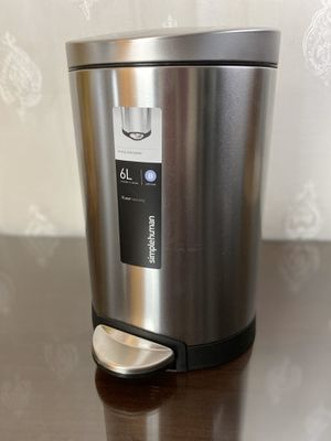 Simplehuman small trash can with step for Sale in Canby, OR