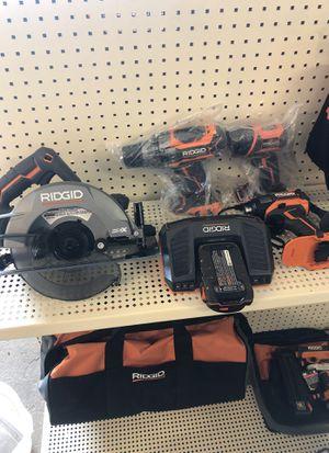 Ridgid v18 kit for Sale in National City, CA