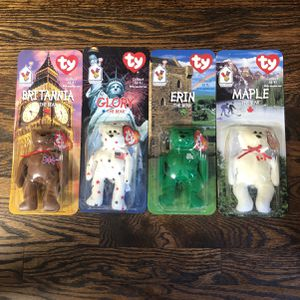 McDonald's Beanie Babies Set Of Four for Sale in Oak Brook, IL