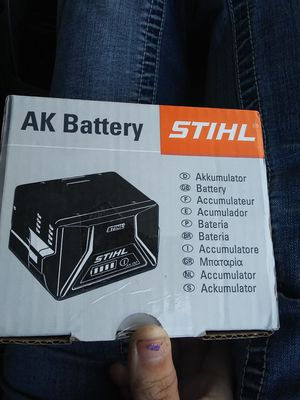 Stihl AK battery for Sale in Eugene, OR