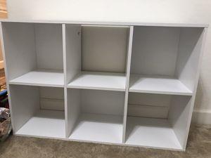White Cubby Organizer Shelf for Sale in Buckeye, AZ