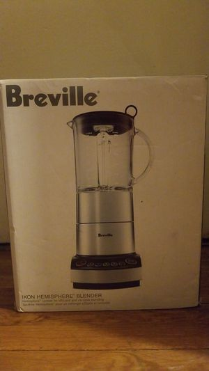 NIB Stainless Steel Breville IKON Hemisphere Blender for Sale in Denver, CO