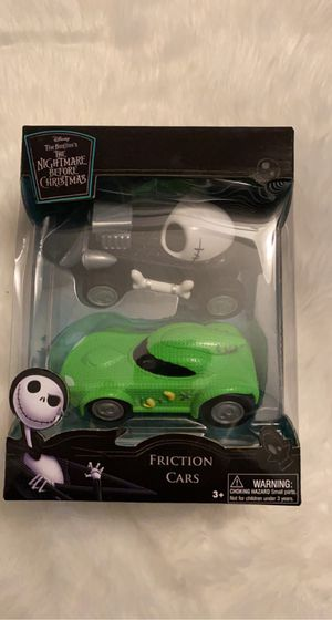 Nightmare before Christmas friction cars for Sale in Ontario, CA