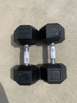 CAP 40lb dumbbell set NEW for Sale in Milpitas, CA