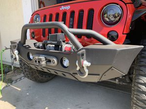 JK or JL Stubby Front Bumper for Sale in Redlands, CA