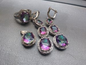 New jewelry set ring, earrings and charm for Sale in Columbus, OH