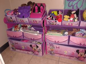 2 Minni Mouse organizers for Sale in Tampa, FL